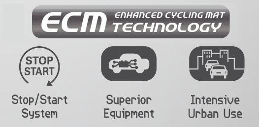 Zastosowanie akumulatorów Centra Micro-Hybrid ECM